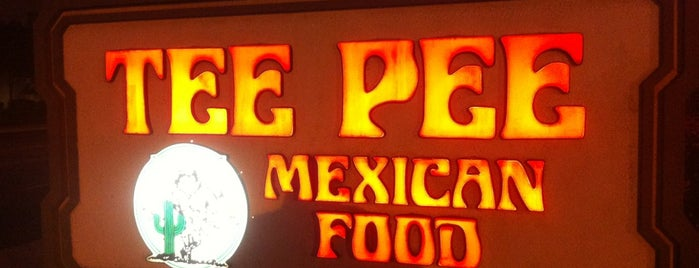 Tee Pee Mexican Food is one of Phoenix.