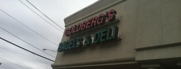 Goldberg's Famous Bagels is one of Posti che sono piaciuti a Andrew.
