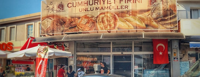 Tarihi Cumhuriyet Ekmek Unlu Mamulleri is one of Lieux qui ont plu à 𝕆𝕜𝕥𝕒𝕪.