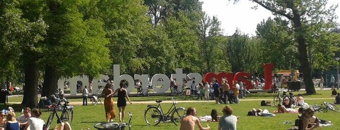 Vondelpark is one of The Nederlands.