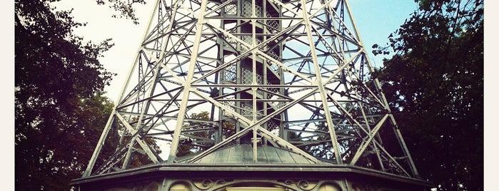 Petřínská rozhledna | Petřín Lookout Tower is one of Praha <3.