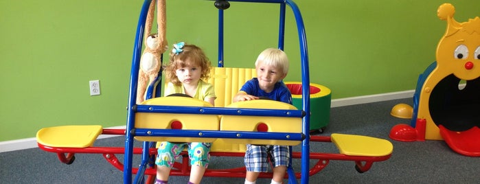 Monkeydoodles Playroom is one of Family Fun.