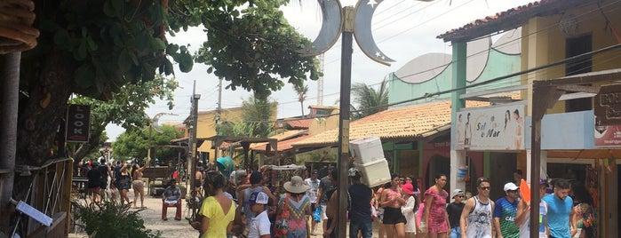 Vila de Canoa Quebrada is one of Orte, die Erika gefallen.