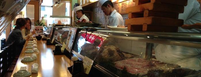 Tsukiji Kagura Sushi is one of Guía de Japón.