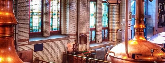 Музей пива Heineken Experience is one of Bier & Amsterdam.