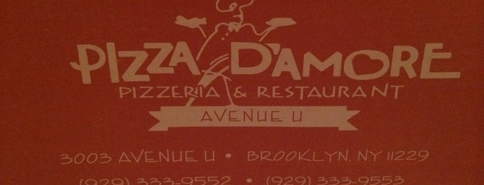 Pizza D'Amore is one of Michael : понравившиеся места.