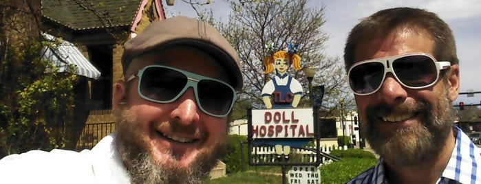 The Doll Hospital is one of Attractions.