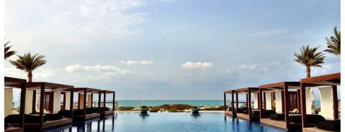 Saadiyat Beach Club is one of Follow me to go around Asia.