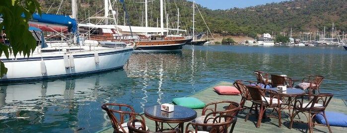 Deniz Cafe is one of Fethiye/Meğri ⛵️.