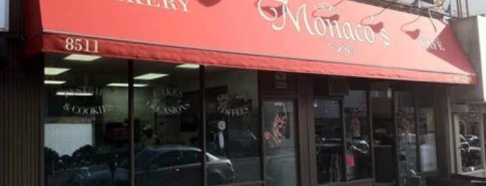 Monaco's Bakery & Cafe' is one of coffeehouse treasure map.