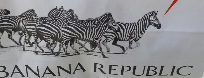 Banana Republic is one of Posti che sono piaciuti a Samah.