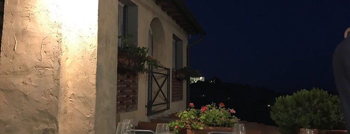 Ristorante da Delfina is one of Tuscany.