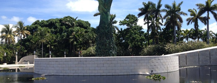 Netscape Swings Installation is one of Miami.