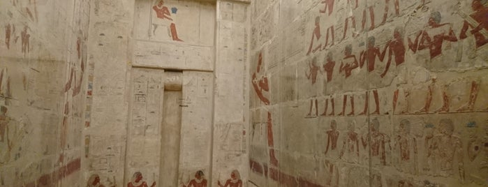 Tomb of Perneb is one of 🐾 High points : What a Treat ! 🐩.