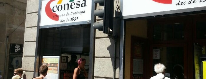 Conesa Entrepans is one of Barcelona's Best Sandwich Places - 2013.