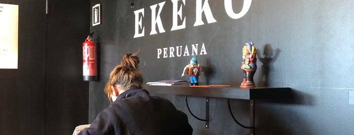 Ekeko Sangucheria Peruana is one of Restaurantes.