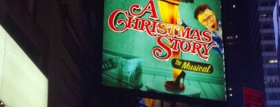 A Christmas Story the Musical at The Lunt-Fontanne Theatre is one of Broadway.
