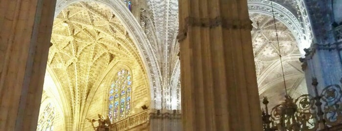 Cathedral of Seville is one of Sevilla travel tips.