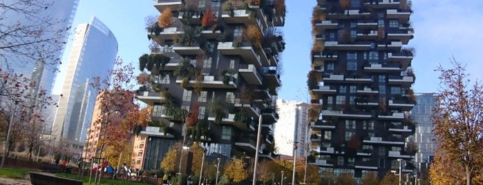Bosco Verticale is one of Milan.