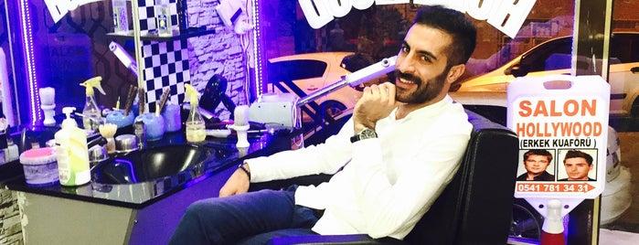 Hollywood Salon Erkek Kuaförü is one of Tempat yang Disukai Nihat.
