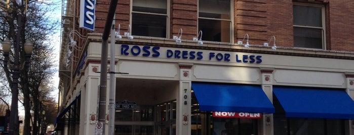 Ross Dress for Less is one of pdx-oh..