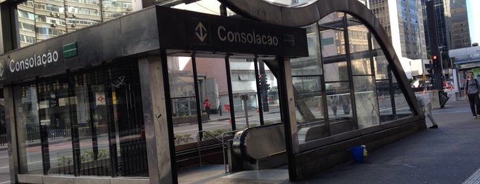 Estação Consolação (Metrô) is one of places.