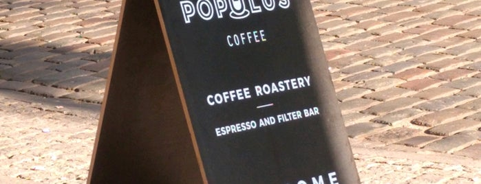 Populus Coffee is one of Marathon Berlin 2016.