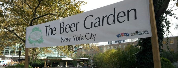 Beer Garden at Battery Gardens is one of NYC Craft Beer Week 2011.