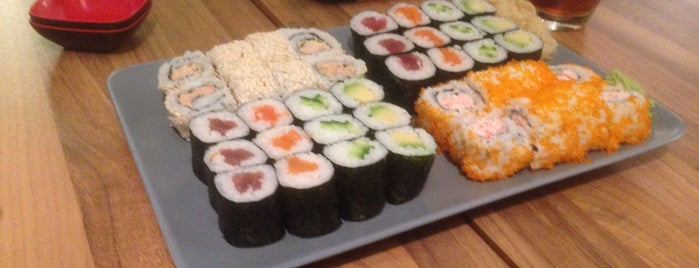 Sushi-Haus Deutz is one of Locais curtidos por Vancra.
