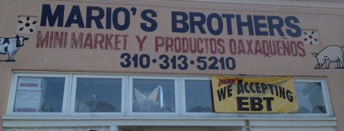 Mario's Brothers Mini Market is one of Black'ın Beğendiği Mekanlar.