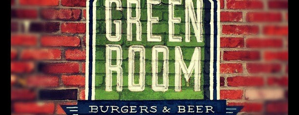 Green Room Burgers & Beer is one of KC Hamburgers: the best of the burger.