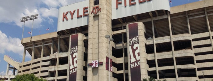 Kyle Field is one of Sporting Venues To Visit.....
