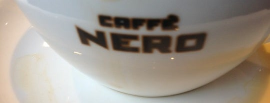Caffè Nero is one of Orte, die Johannes gefallen.