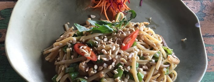ImmAim Vegetarian Cafe อิ่มเอมอาหารมังสวิรัติ is one of N.さんのお気に入りスポット.