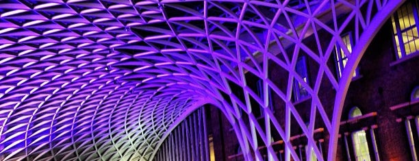 London King's Cross Railway Station (KGX) is one of London.
