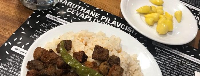 Baruthane Pilavcısı is one of Oylesine Yemek.
