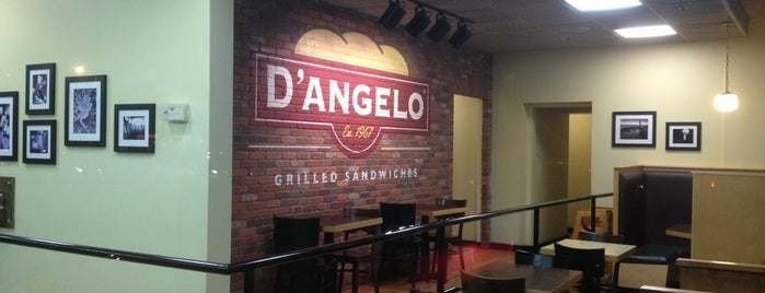 D'Angelo Grilled Sandwiches is one of Newport.