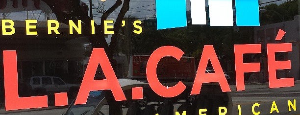 Bernie's L.A. Cafe is one of HUNGRY.