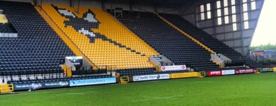 Meadow Lane Stadium is one of Big Matchs's Today!.