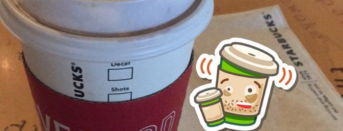 Starbucks is one of Lieux qui ont plu à $h@w|n 🎸.