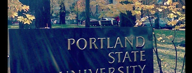 Portland State University is one of Locais curtidos por Zachary.