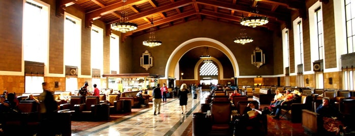 Union Station is one of Discover Los Angeles.
