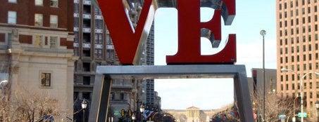 JFK Plaza / Love Park is one of Historic Philadelphia.