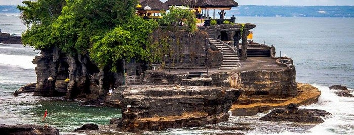 Pura Luhur Tanah Lot is one of The Island of the Gods.