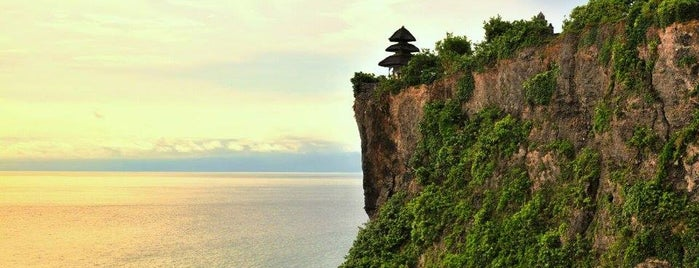 Pura Luhur Uluwatu is one of The Island of the Gods.