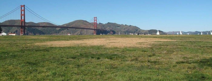 Crissy Field is one of City By The Bay.