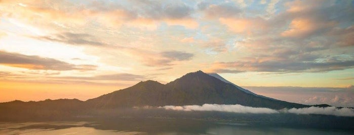 Top of Mount Batur is one of The Island of the Gods.