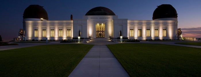 Griffith Observatory is one of Discover Los Angeles.