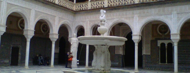 Casa de Pilatos is one of seville.