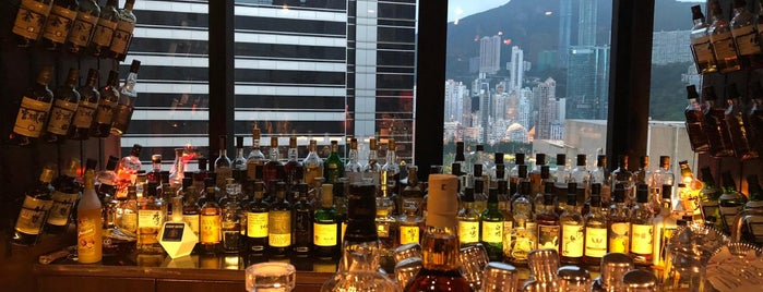 B.A.R. Executive Bar is one of HK - Place to check out.